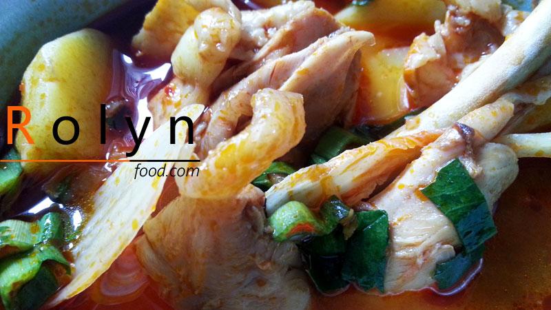 món ăn ngày tết canh gà hầm kim chi (8)