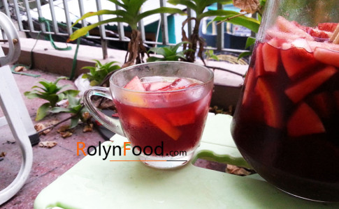 cach pha che cocktail sangria don gian trong 15 phut rolyn food hinh anh 1
