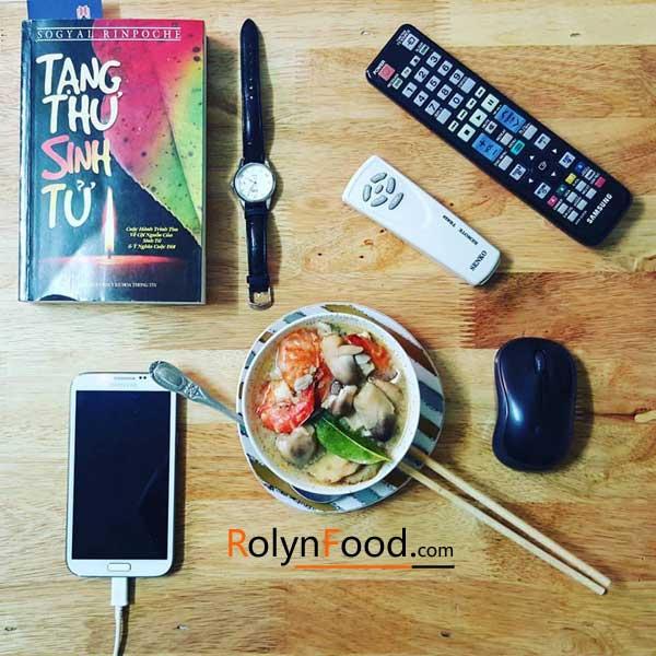 mon sup tom yum Thai Lan noi chua nua dat nuoc Thai Lan trong toi Rolynfood hinh anh 11
