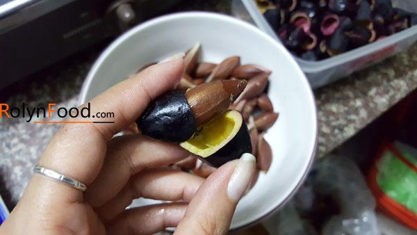 nấu gì với quả trám đen những chuyện kể từ rolynfood 3