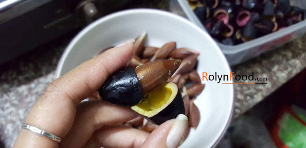 nấu gì với quả trám đen những chuyện kể từ rolynfood