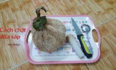 cách chặt dừa sáp miền nam rolynfood (1)